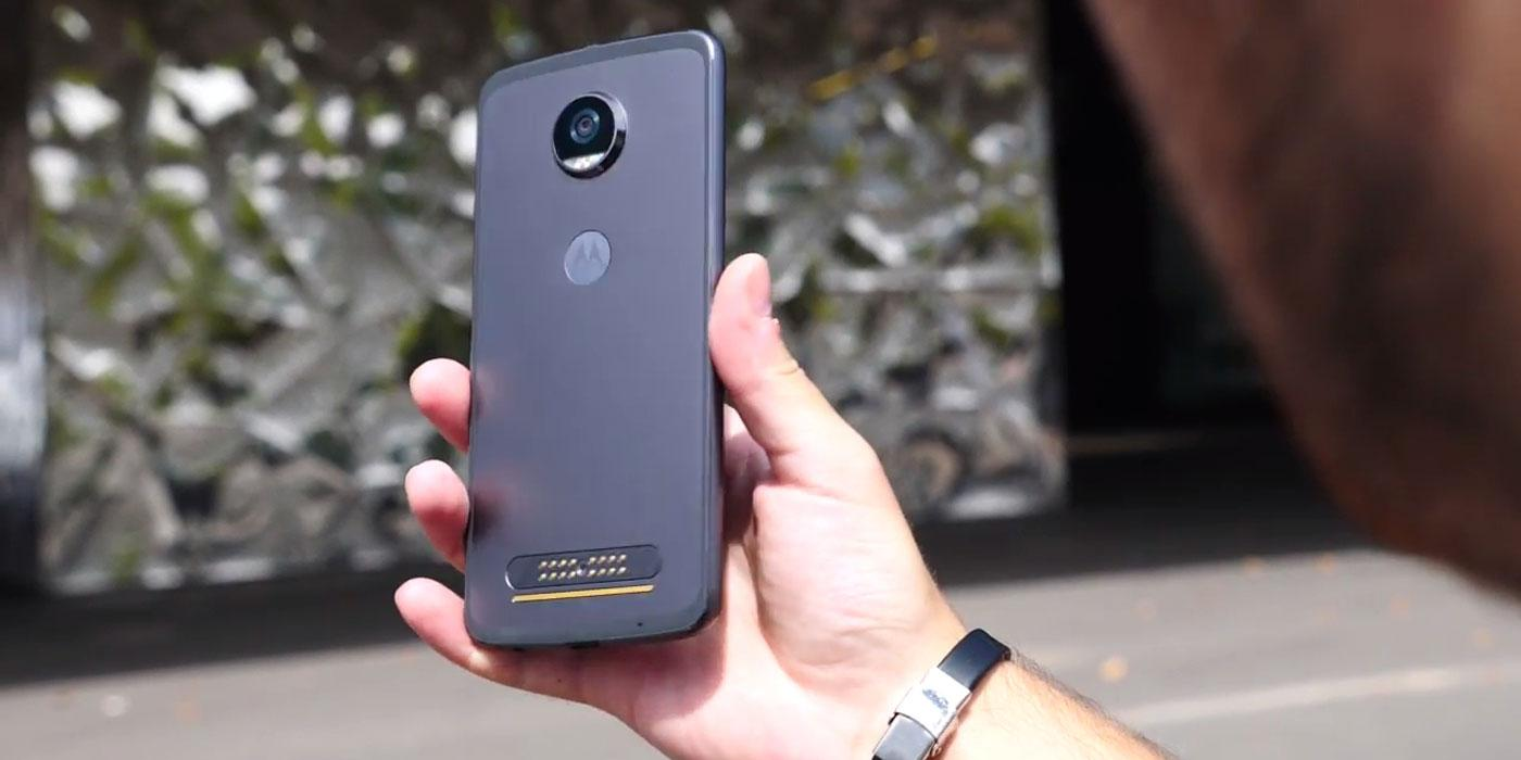 Teléfono Motorola Moto Z2 Play