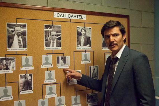 Serie Narcos en Netflix