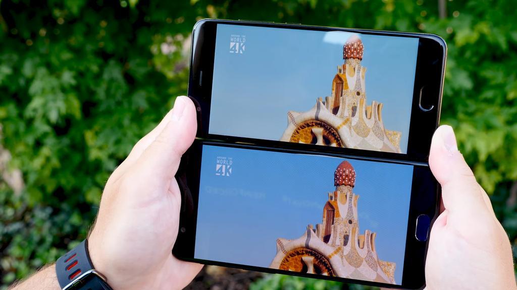 Pantallas de los OnePlus 5 y Xiaomi Mi 6