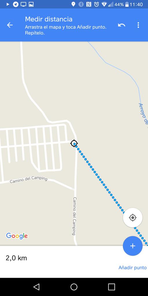 Selección punto final en Google Maps