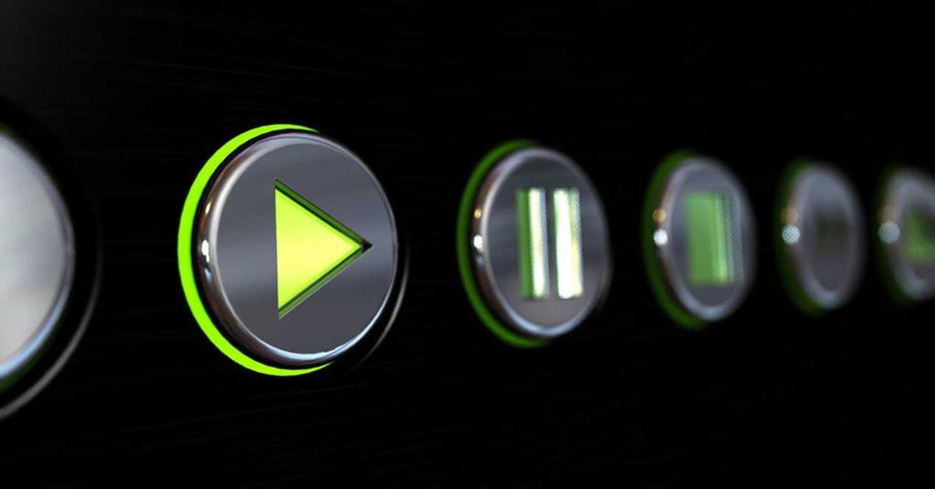 Botones reproductor multimedia