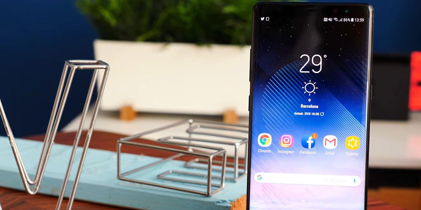 Phablet Samsung Galaxy Note 8