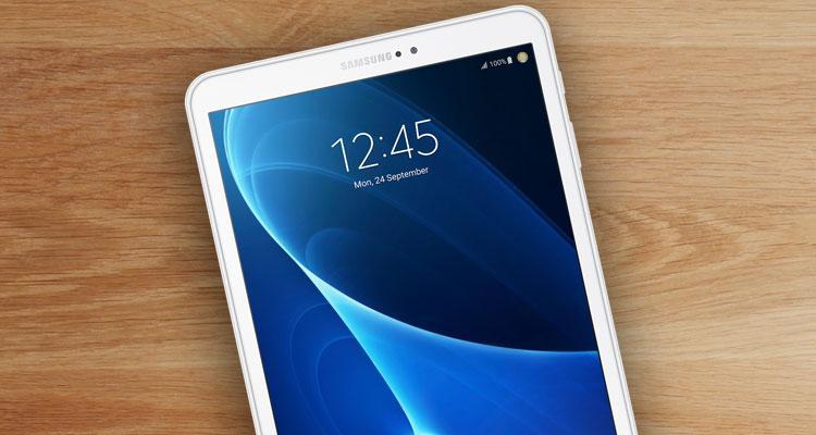 Frontal tablet de Samsung