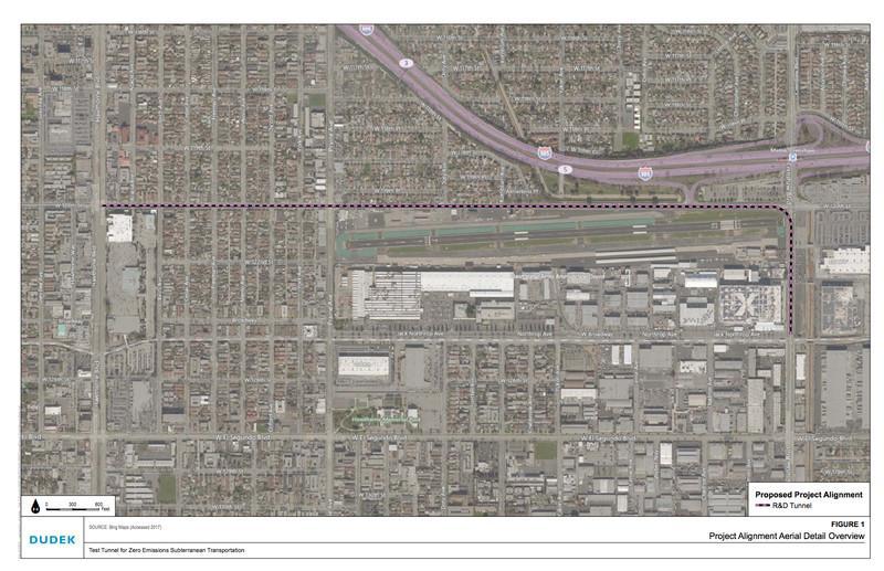 Plano del túnel de Boring Company para probar Hyperloop