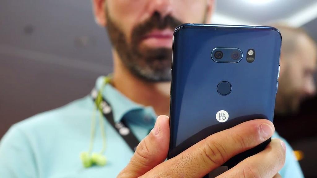 Uso del LG V30