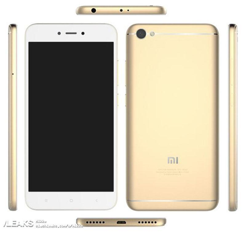Diseño del Xiaomi Redmi Note 5A
