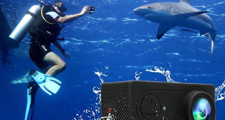 cámara de acción