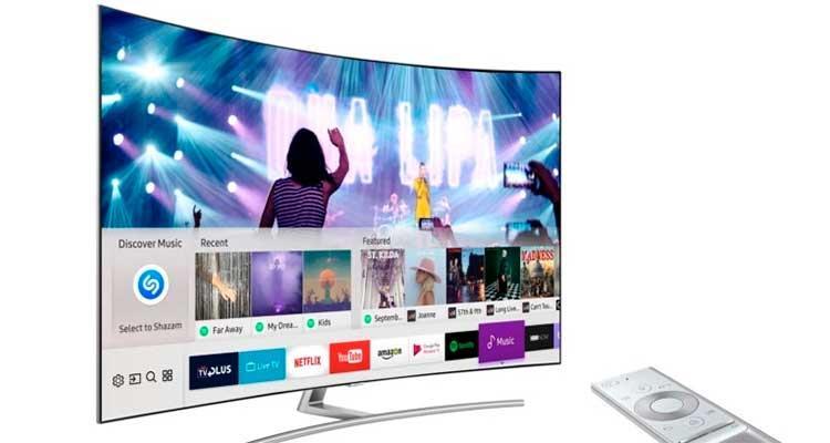 Shazam para Samsung Smart TV