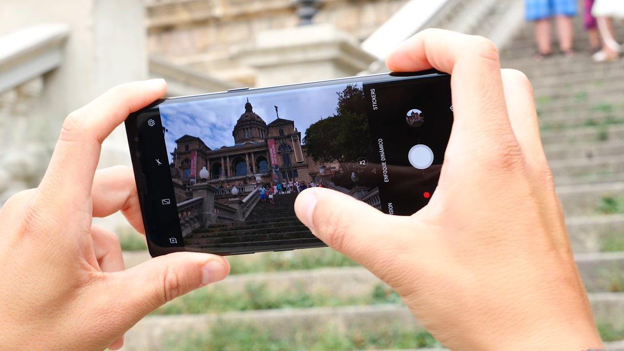 Aplicación cámara del Samsung Galaxy Note 8