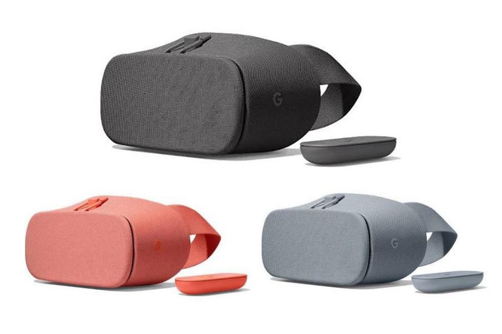 Colores de las gafas Daydream VR