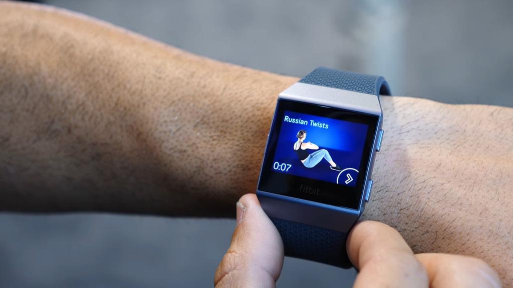 Entrenador incluido en Fitbit Ionic