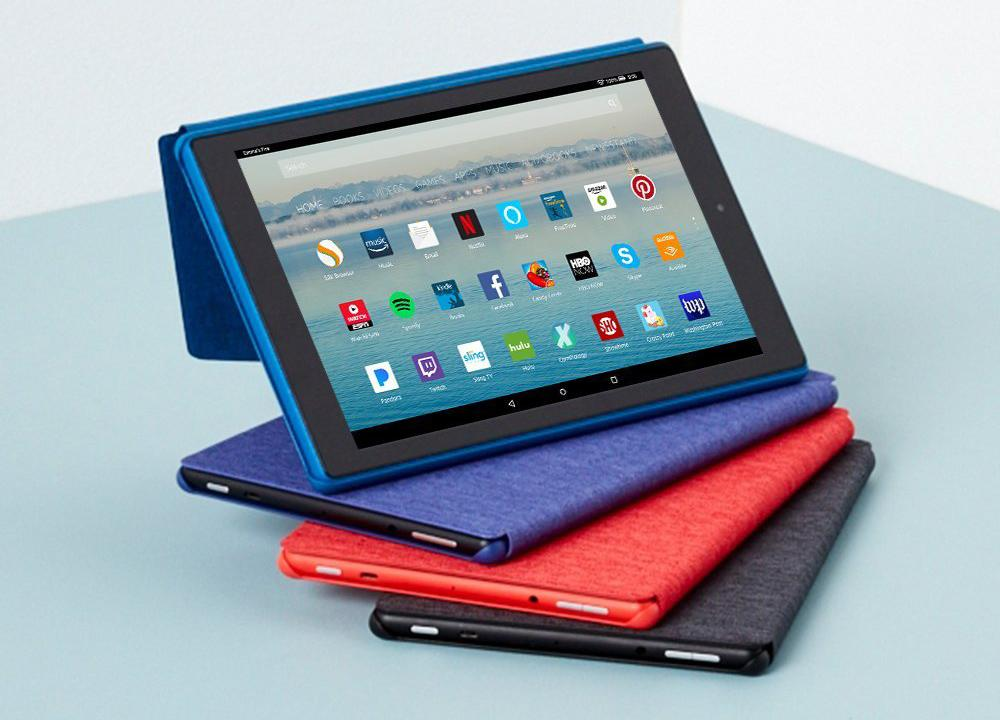 Tablet Fire 10 HD con funda