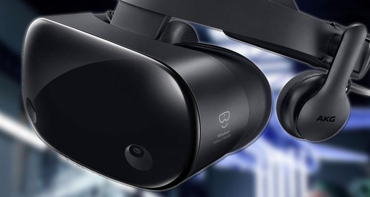 Gafas de realidad virtual mixta de Samsung