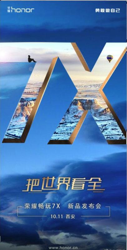 Presentación Honor 7X