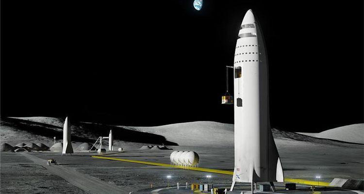 Lanzadera espacial de Space X