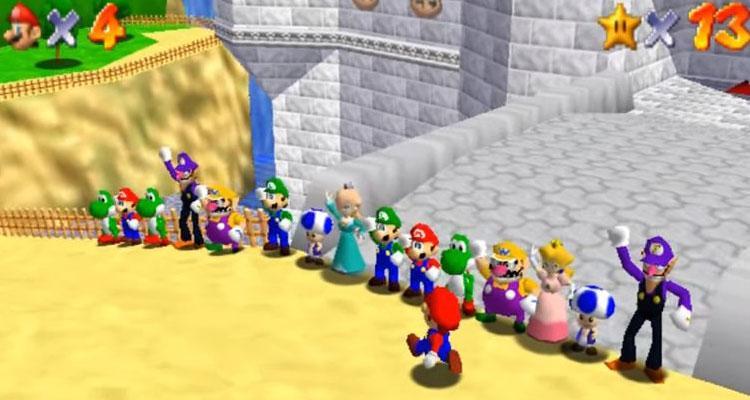 MOD Super Mario Online 64