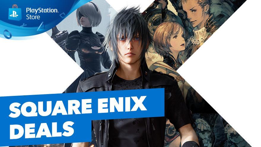 Ofertas en juegos de Square Enix