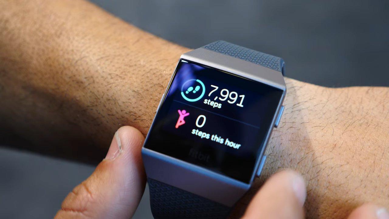 Calidad de la pantalla de Fitbit Ionic