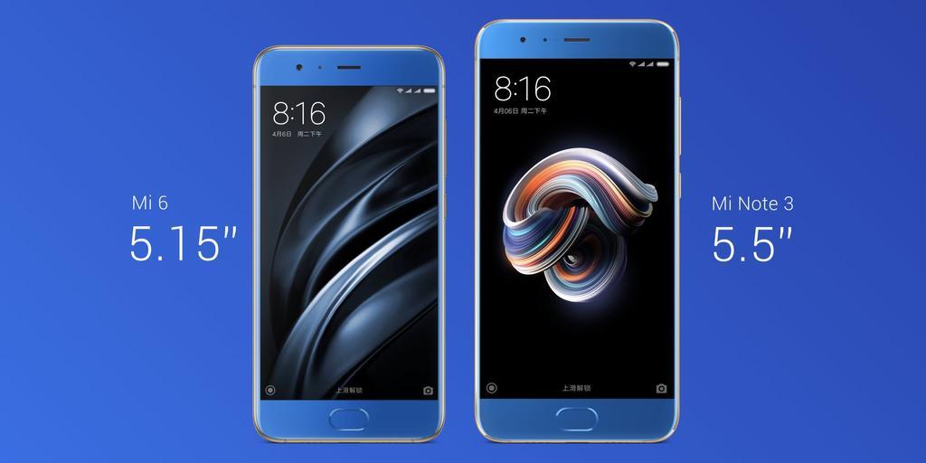 Frontal nuevo Xiaomi Mi Note 3