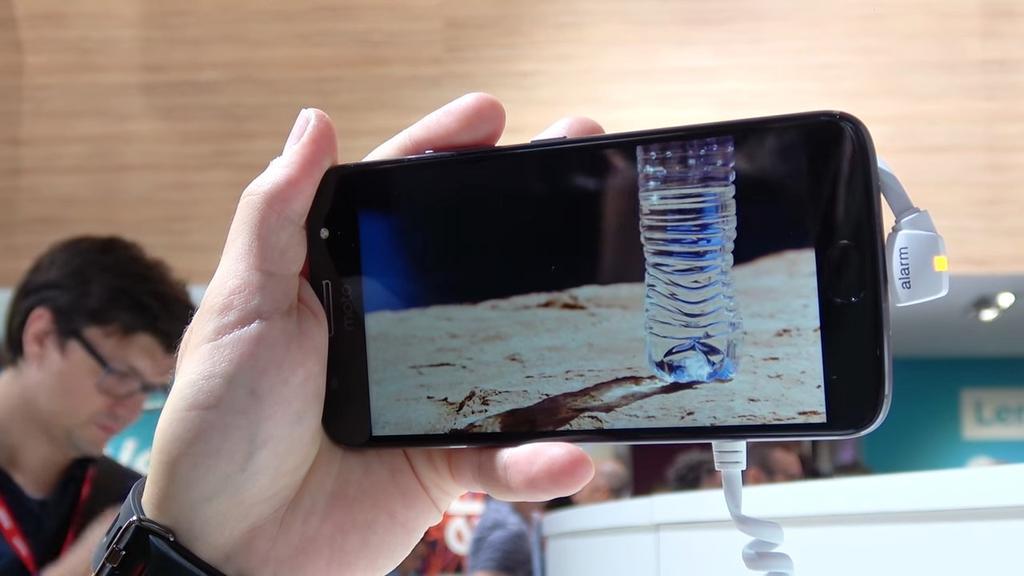 Pantalla del teléfono Moto G5s