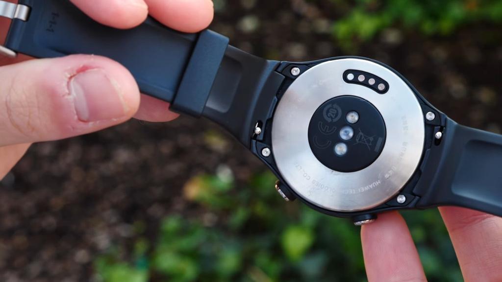 Imagen posterior del Huawei Watch 2