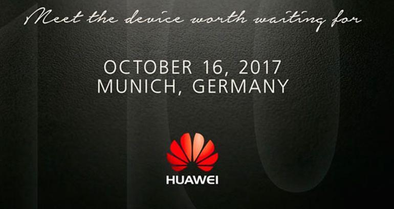 Invitación presentación Huawei Mate 10