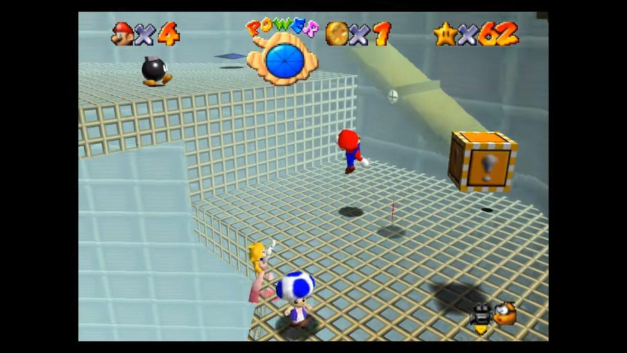 MOD para juego Super Mario Online 64 de Nintendo