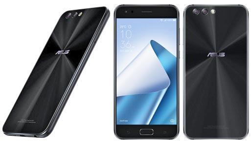 Teléfono con Android ASUS Zenfone 4 de color negro