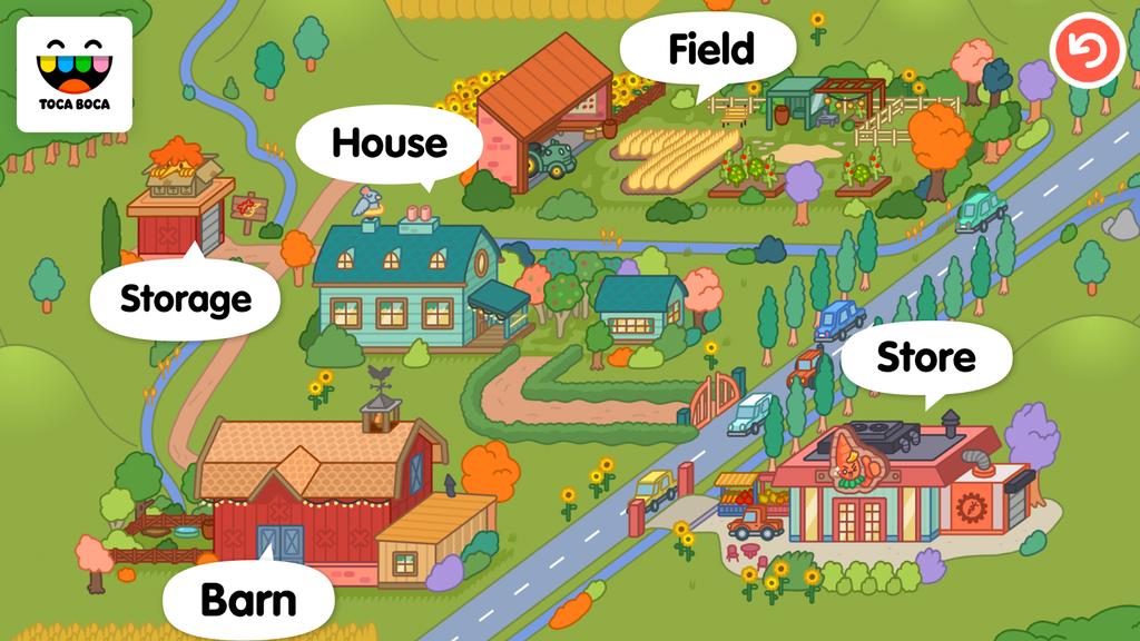 Juego para Android Toca Life: Farm
