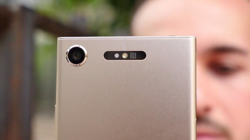 Trasera del Sony Xperia XZ1