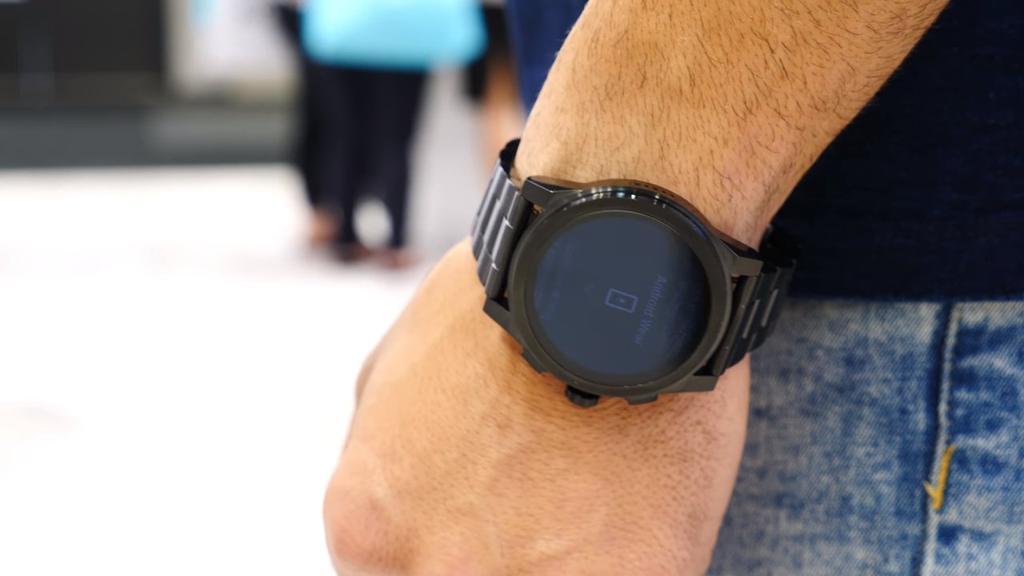 Uso del smartwatch de Michael Kors