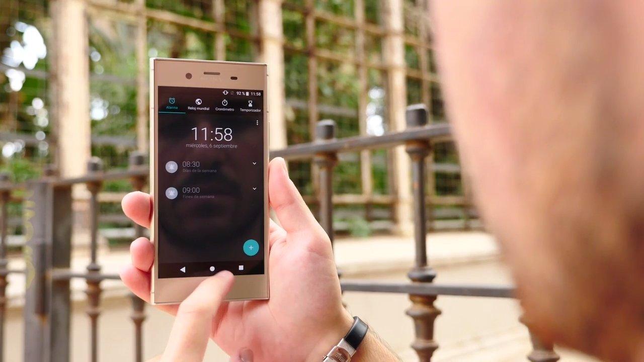 Uso del nuevo Sony Xperia XZ1