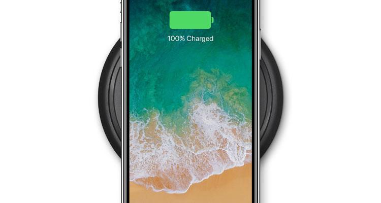 iPhone X base carga inalámbrica