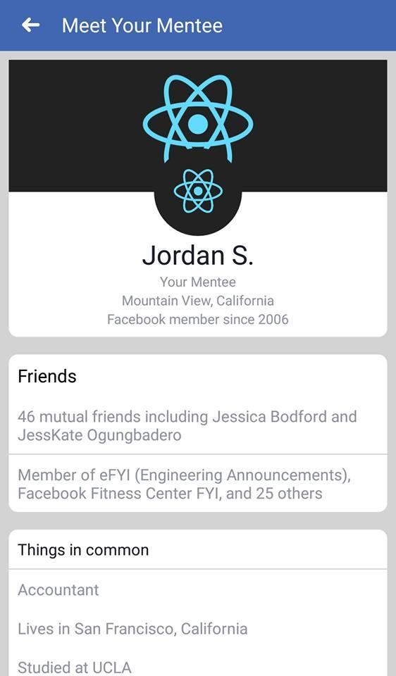 Nuevas relaciones en Facebook con educación
