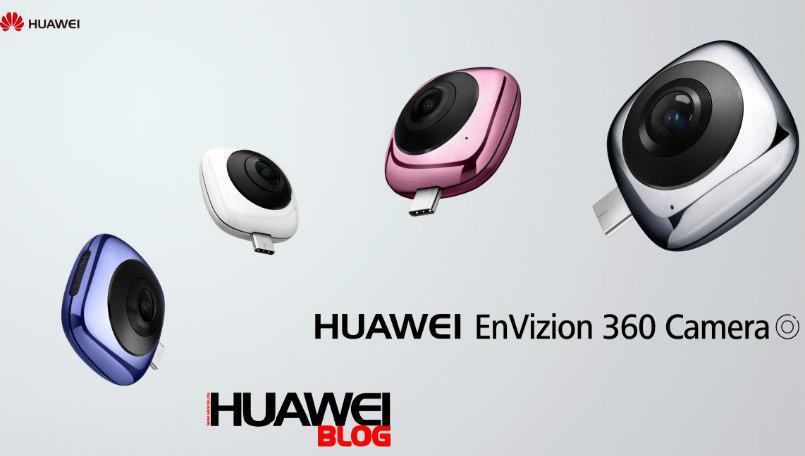 Nueva cámara Huawei EnVizion 360 Camera