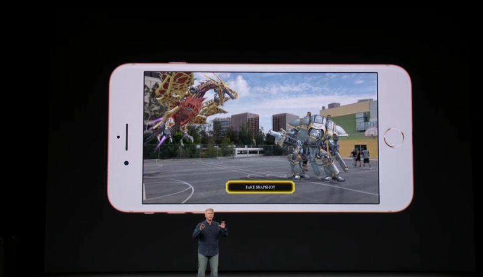 Imagen horizontal del iPhone 8