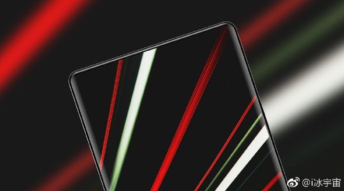 Frontal superior del Xiaomi MI Mix 2