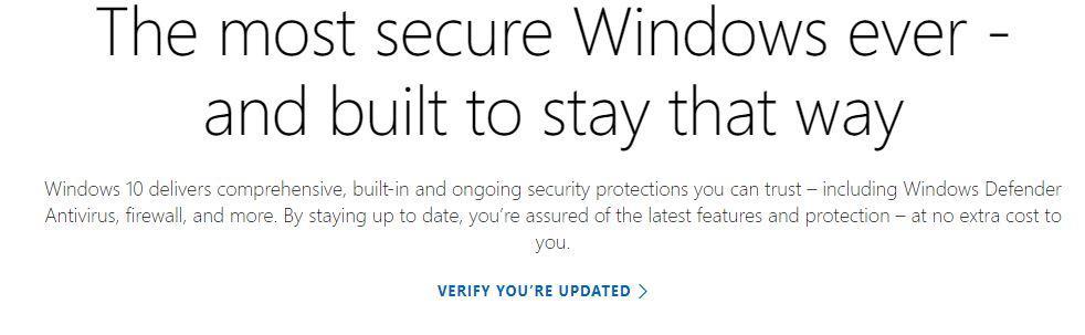Actualización Windows 10 desde la web