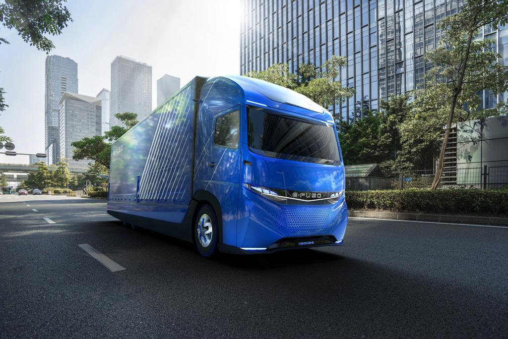 Nuevo camión eléctrico d Daimler