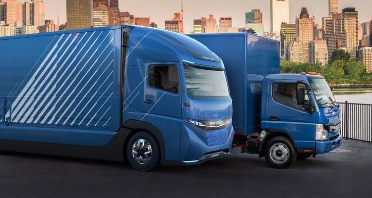 Camión eléctrico Vision One Daimler