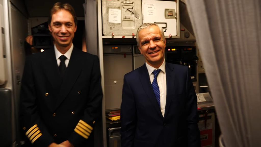Celetino García vicepresidente corporativo de Samsung vuelo Iberia regalo Note 8