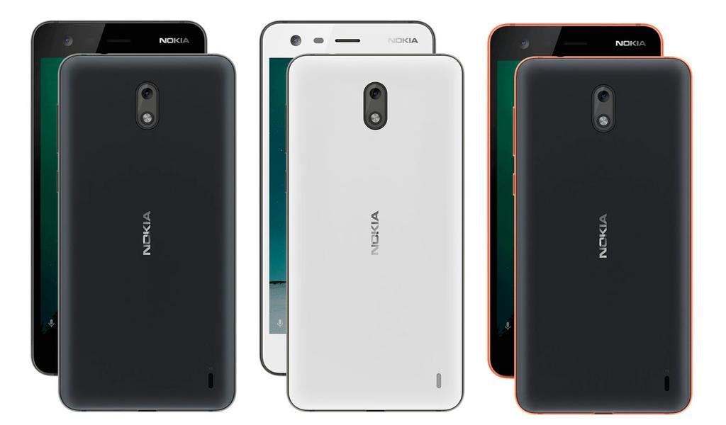 Colores del Nokia 2