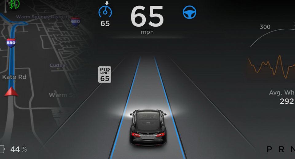 Conducción autónoma Tesla