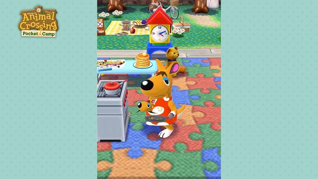 Decoración en Animal Crossing Pocket Camp