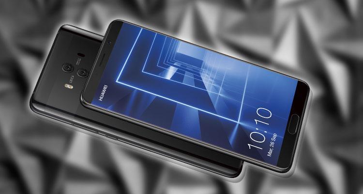 Imagen Huawei Mate 10 con fondo gris