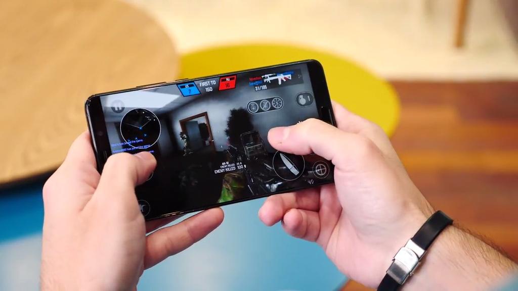 Ejecución de juego en el Huawei Mate 10