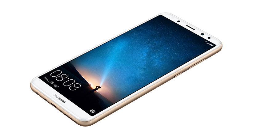 Aspecto del Huawei Mate 10 Lite