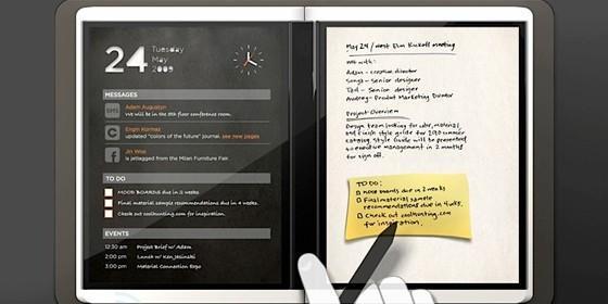 Tablet Microsoft Andrómeda