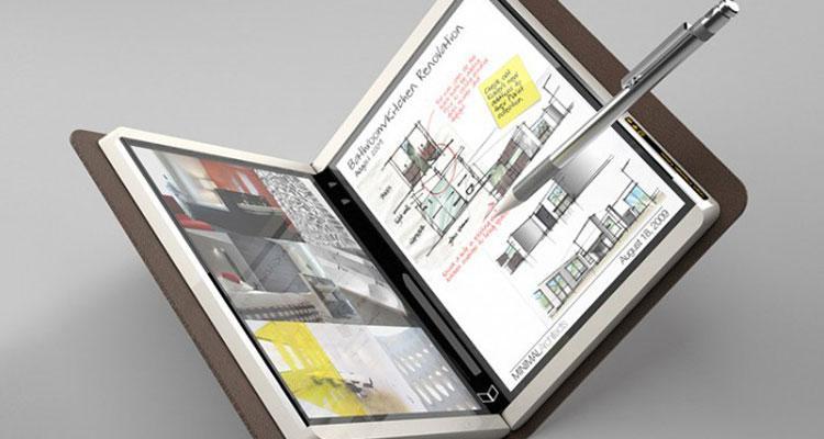 Posible diseño tablet Microsoft