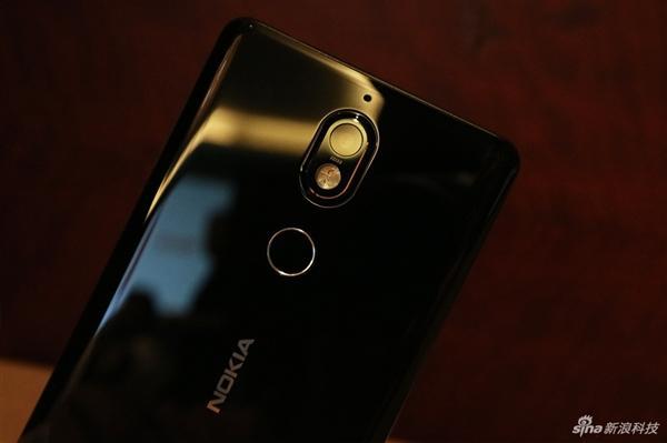 Imagen posterior del Nokia 7
